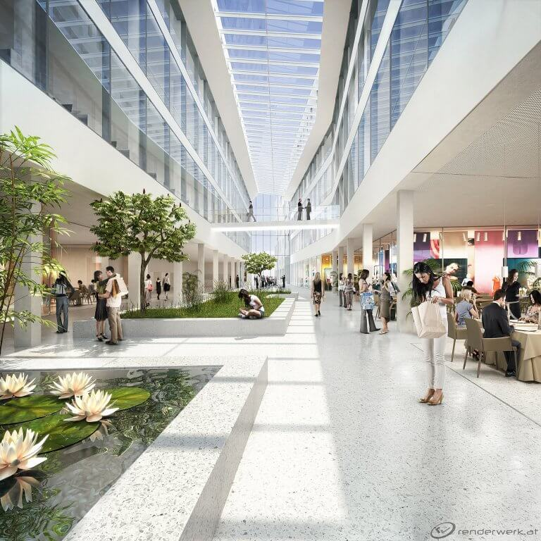 Renderwerk_Visualisierung_Architektur_Promenaden_Mall